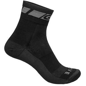 GripGrab Merino Regular Cut Socken black black