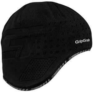 GripGrab Aviator Windproof Thermo Helmmütze black black