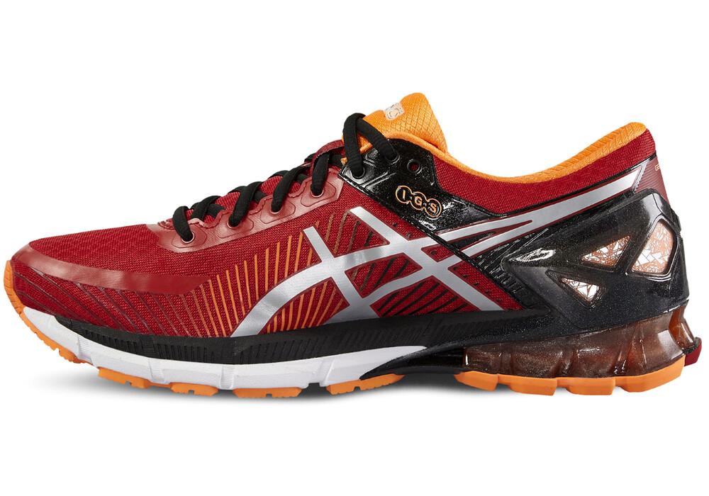 asics gel kinsei 6 chaussures de running homme orange rouge sur. Black Bedroom Furniture Sets. Home Design Ideas
