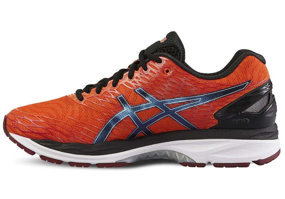 asics gel nimbus 18 chaussures de running homme orange noir boutique de v los en ligne. Black Bedroom Furniture Sets. Home Design Ideas