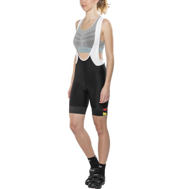 Brügelmann Bioracer Pro Race Trägershorts Damen schwarz