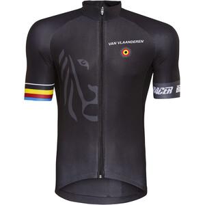 Bioracer Van Vlaanderen Pro Race Trikot Herren schwarz schwarz