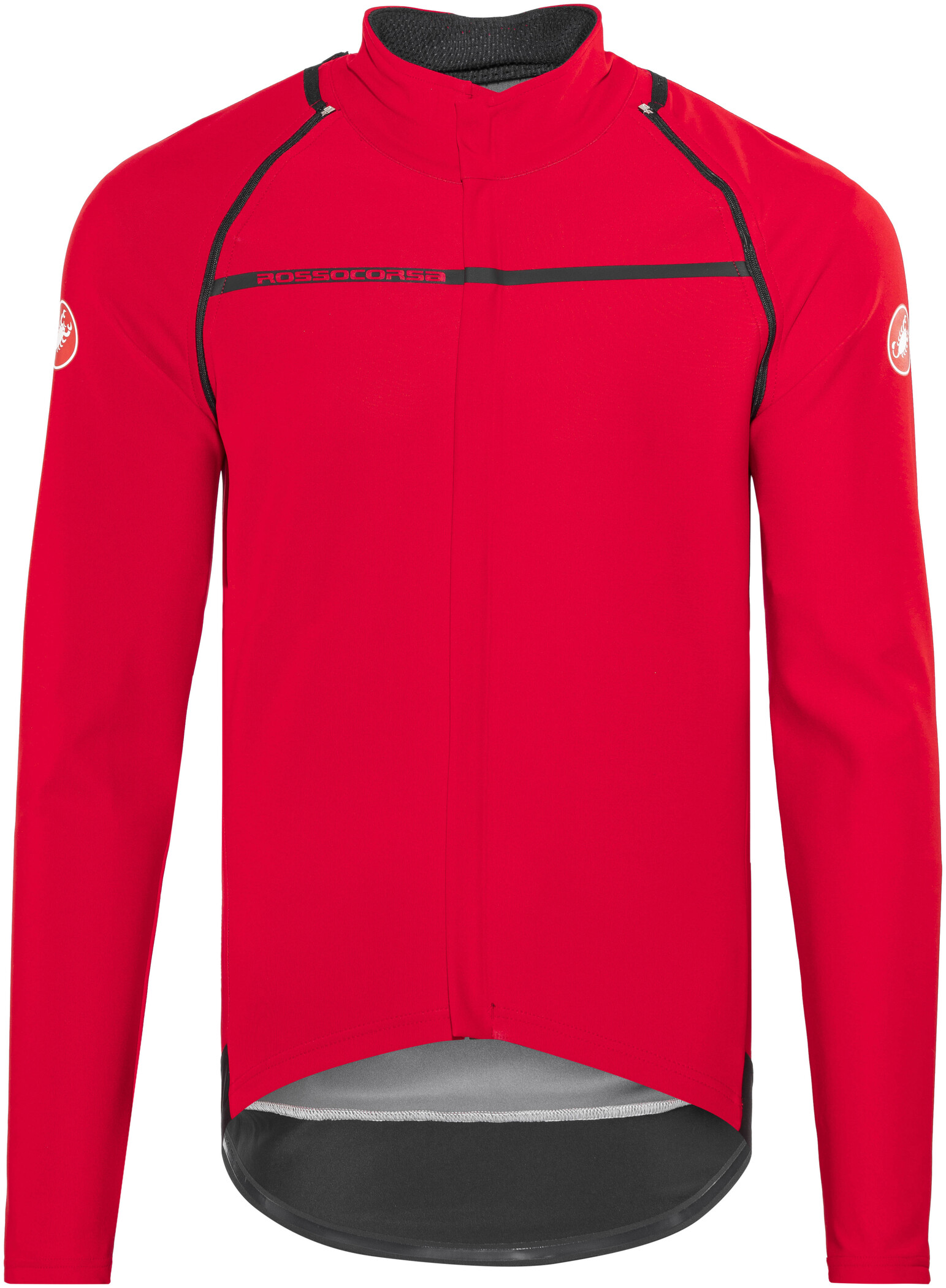 Castelli Perfetto Convertible Jacke Herren red