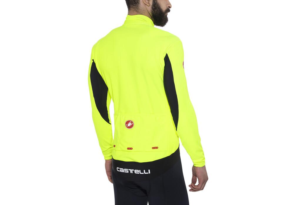 Castelli perfetto maillot manches longues jaune for De castelli