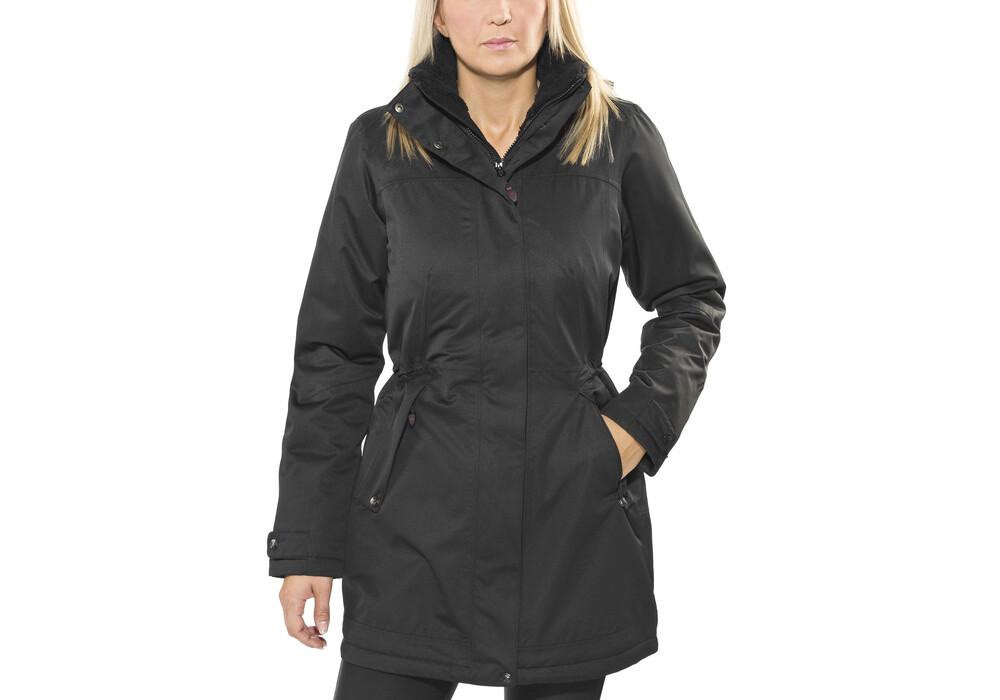 maier sports lisa 2 mantel damen black. Black Bedroom Furniture Sets. Home Design Ideas