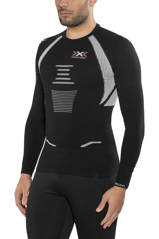 X-Bionic The Trick Running Shirt LS Men Black/White XL 2018 Kompressionsshirts