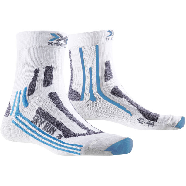 X-Socks Sky Run V2.0 Socken Damen white/turquoise