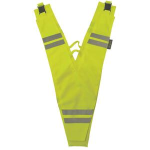Wowow sikkerhedskrage voksen reflekterende, gul gul