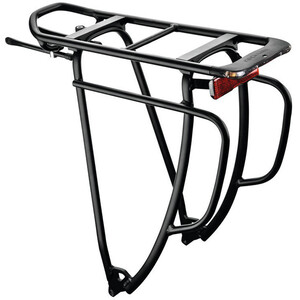 Racktime Shine Evo Tour System Carrier 29 inches black black