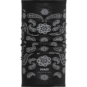 HAD Merino Schlauchschal india paisley black india paisley black
