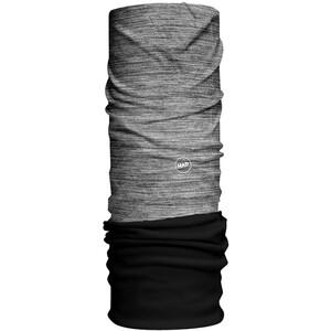 HAD Solid Stripes Fleece Tour de cou, gris/noir gris/noir