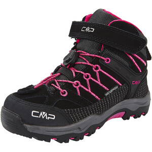 CMP Campagnolo Rigel WP Mid-Cut Trekkingschuhe Kinder antracite-hot pink antracite-hot pink