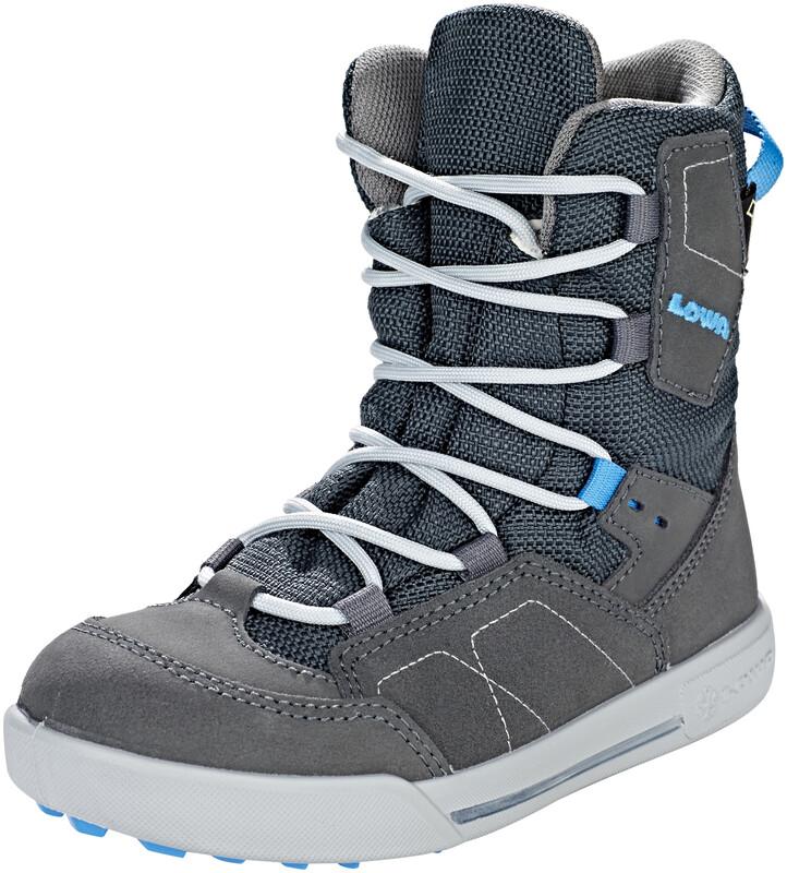 Lowa Raik GTX Mid Shoes Kids anthrazit/blau 34 2018 Winterstiefel, Gr. 34