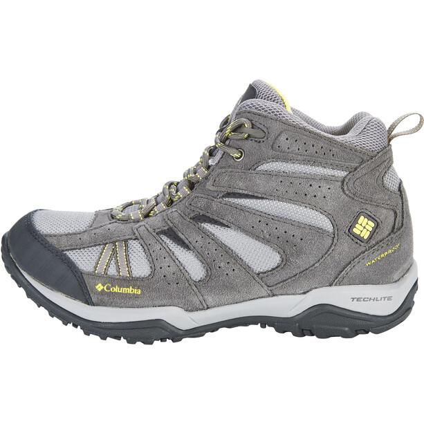 Columbia Dakota Drifter Mid Waterproof Schuhe Damen light grey/sunnyside