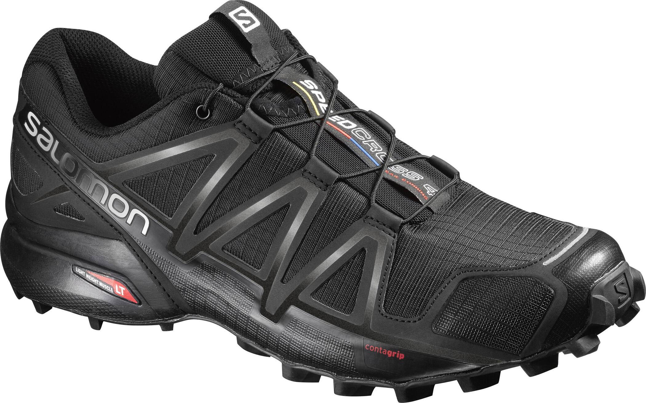 Salomon Speedcross 4 Schuhe Herren blackblackblack metallic