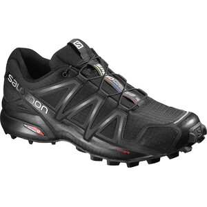 Salomon Speedcross 4 Schuhe Herren black/black/black metallic black/black/black metallic