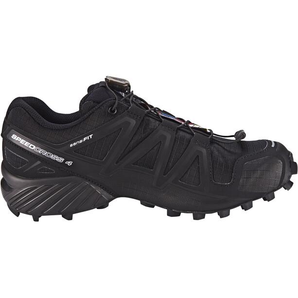 Salomon Speedcross 4 Schuhe Damen black/black/black metallic