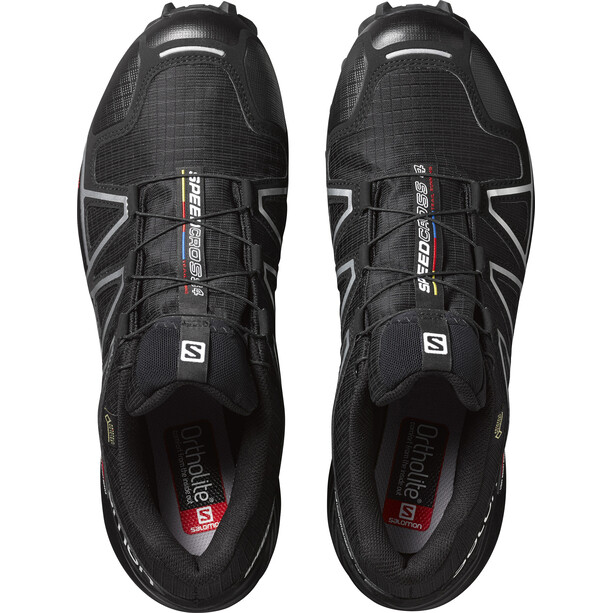 Salomon Speedcross 4 GTX Schuhe Herren black/black/silver metallic-x