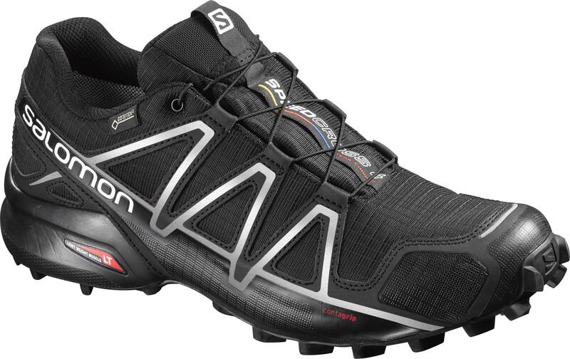 Speedcross 4 GTX Shoes Men Black/Black/Silver Metallic-X UK 11   EU 46 2019 Trail Running Schuhe