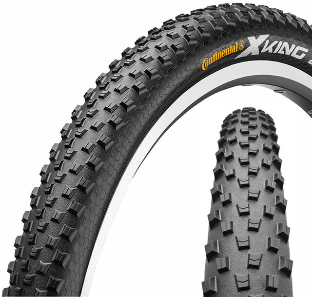 Continental X King neum/ático de Bicicleta Unisex