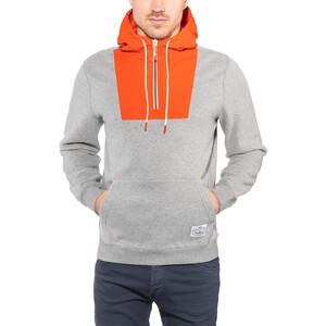 POLER Bag-IT Hoodie Herren grey heather grey heather