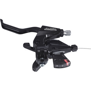 Shimano ST-M310 Gear/Brake Lever 3-delad Vänster svart svart