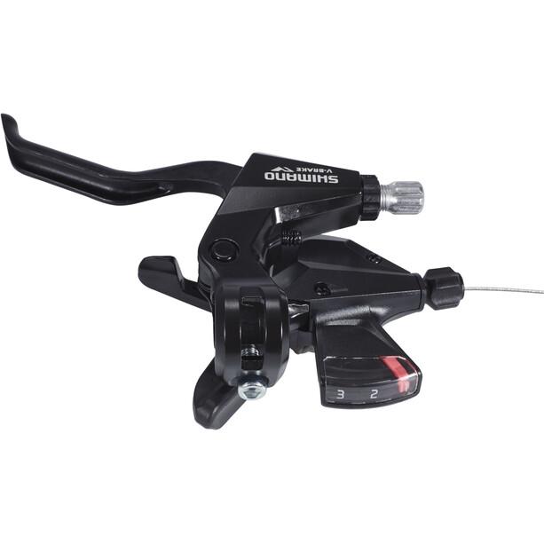 Shimano ST-M310 Gear/Brake Lever 3-delad Vänster svart