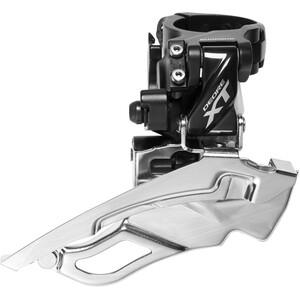 Shimano Deore XT Trekking FD-T8000 Desviador abrazadera alto 3x10 Down Swing, negro negro