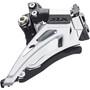 Shimano SLX FD-M7025 Front Derailleur Conventional djup 2x11 Top Swing black