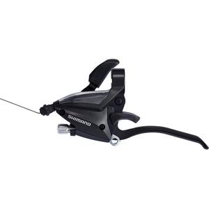 Shimano ST-EF500-4 Växel-/broms-reglage Fram 3-växlad svart svart