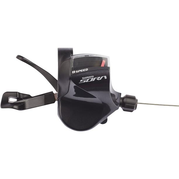 Shimano Sora SL-R3000 Levier de vitesse bride fixation 9 vitesses, noir