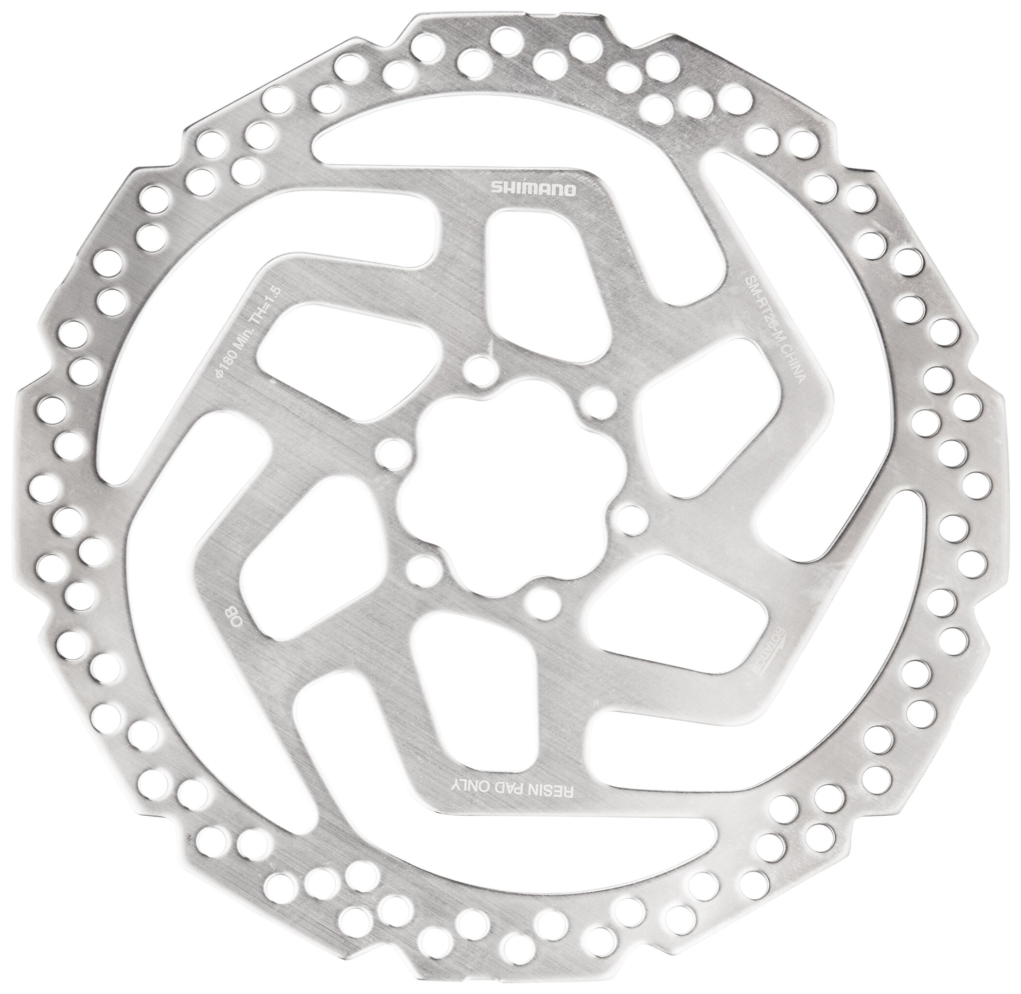 SHIMANO Deore SM-RT64 Bremsscheibe Center-Lock Durchmesser 180 mm 2018 Bremsscheiben