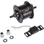 Shimano Nexus DH-C3000-3N Dynamo de moyeu 3 Watt pour freins sur jante/axe de vissage, black