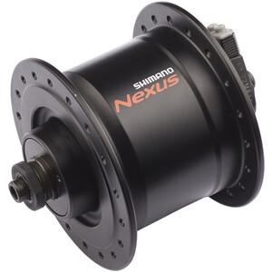 Shimano Nexus DH-C3000-3N Nabendynamo 3 Watt für Felgenbremse/Schnellspanner schwarz schwarz