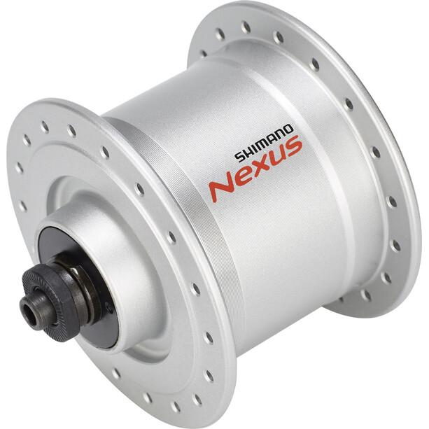 Shimano Nexus DH-C3000-3N Dynamo de moyeu 3 Watt pour freins sur jante/dispositif de fixation rapide, silver