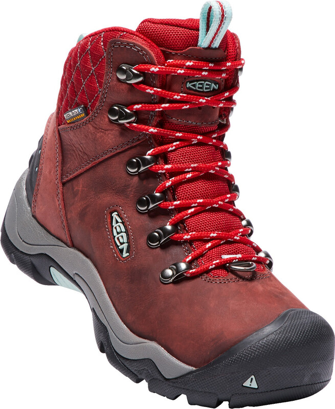 Keen Revel III Shoes Women Racing Red/Eggshell 39 2018 Trekking- & Wanderschuhe,