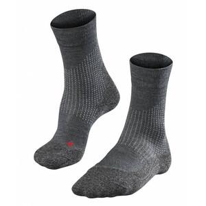 Falke Stabilizing Wool Socken Damen asphalt melange asphalt melange