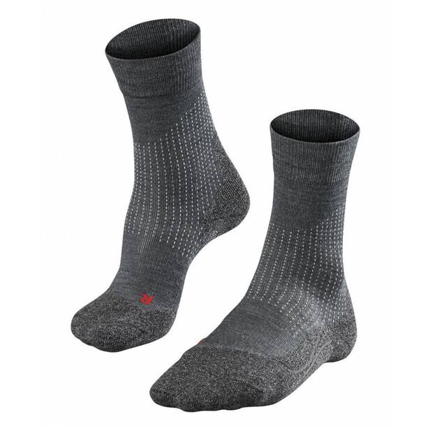 Falke Stabilizing Wool Socken Damen asphalt melange
