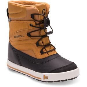 Merrell Snow Bank 2.0 Waterproof Stiefel Kinder wheat/black wheat/black