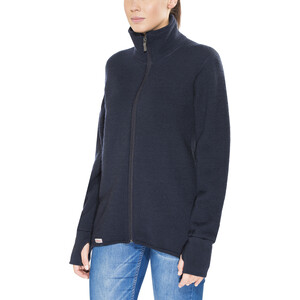Woolpower 600 Full-Zip Jacke dark navy dark navy