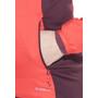 Salomon Drifter Mid Jacke Damen infrared/pinot noir