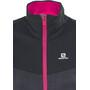 Salomon Pulse Softshell Jacke Damen black/yarrow pink