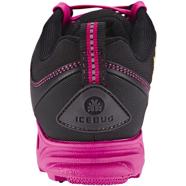 Icebug Pytho3 BUGrip Schuhe Damen Black/Peony