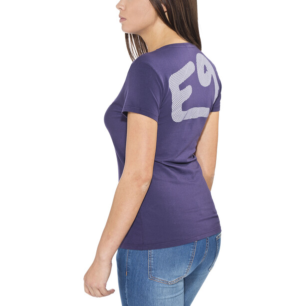 E9 Solid Lady T-Shirt Damen lila
