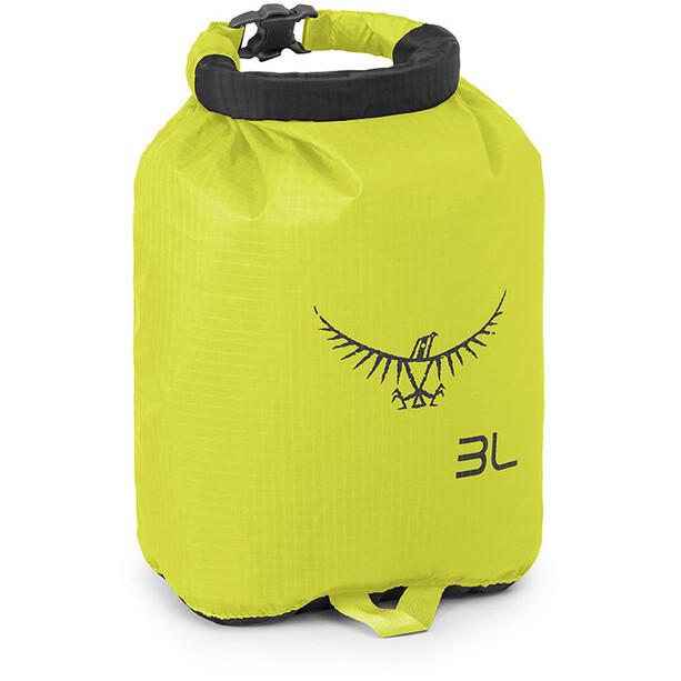 Osprey Ultralight DrySack 3 electric lime