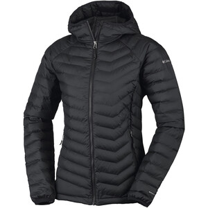 Columbia Powder Lite Kapuzenjacke Damen black black