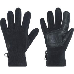 Black Diamond MidWeight Fleece-hanskat, musta musta
