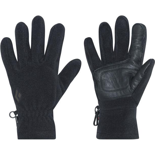 Black Diamond MidWeight Fleece-hanskat, musta