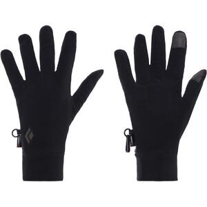 Black Diamond LightWeight Fleecehandschuhe schwarz schwarz
