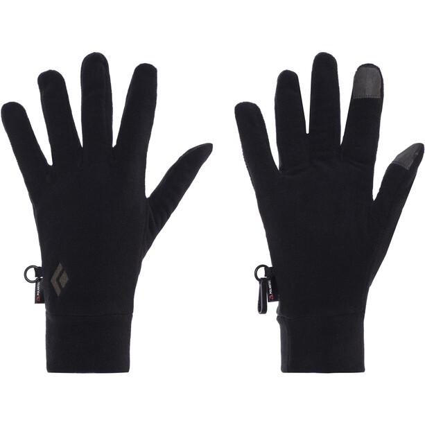 Black Diamond LightWeight Fleecehandschuhe schwarz